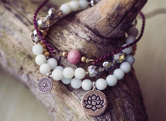 Bijoux en pierres